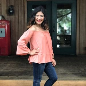 Mossimo off the shoulder top